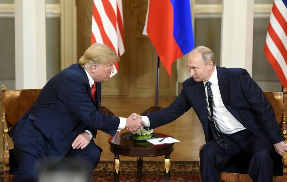"""特朗普和普京认为首次正式会晤具有""""建设性"""""""