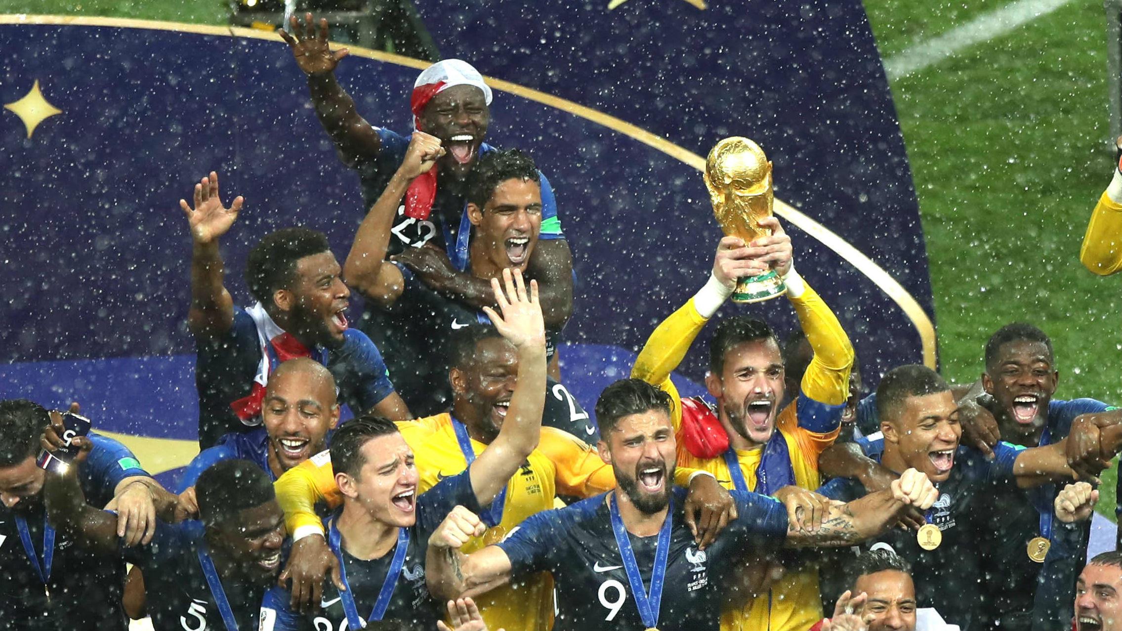 法国队夺冠可不仅靠博格巴的发型 外媒评五要素助荣耀登顶