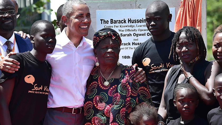 回老家看老乡:美国前总统奥巴马卸任后首次访问肯尼亚