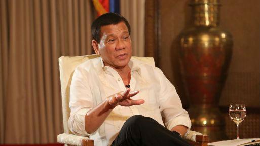"""外媒:杜特尔特称中国是""""好邻居"""" 希望菲律宾人转变观点"""
