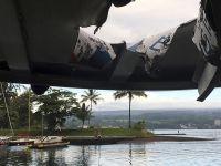 夏威夷基拉韦亚火山岩浆溅落 砸中23名游客和船员