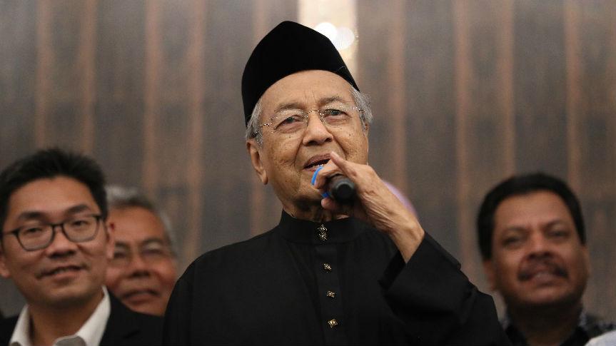 港媒:马来西亚总理特使访华为马哈蒂尔打前站