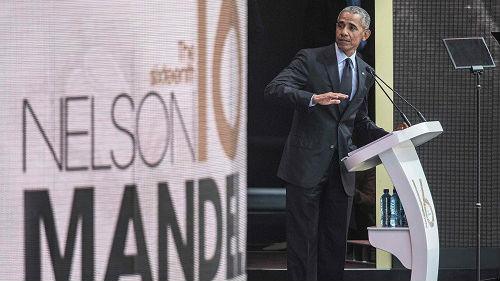 外媒称奥巴马高调演讲暗批特朗普:无视事实 谎话连篇