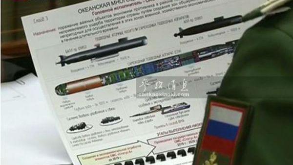 """邻邦扫描:俄核鱼雷可制造海啸 俄军研发反""""战斧""""利器"""