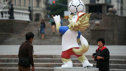新媒:世界杯期间中国球迷在俄消费总额排第二 美国人居首