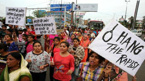 美媒评印度再现女童遭性侵案:性侵案频发 印度政府却无对策