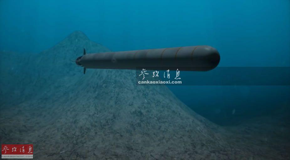 一发灭航母舰队!俄曝光测试核动力鱼雷