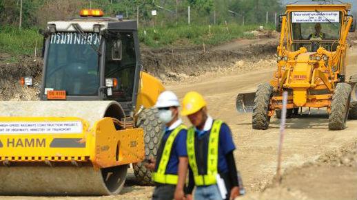 """中日将就""""一带一路""""合作 日媒:首个项目是泰国轻轨"""