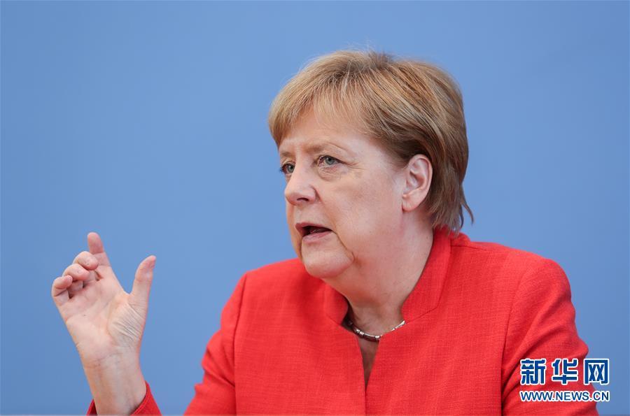 默克尔:愿与美国继续合作 但欧洲不能再依靠美国