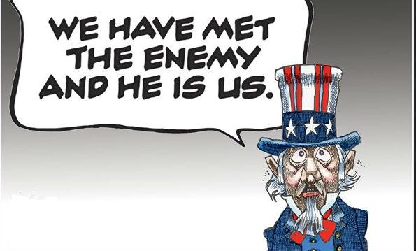 山姆大叔:我们见过敌人,就是我们自己