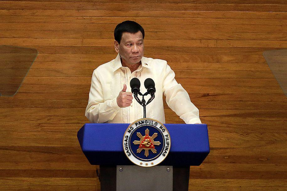 菲律宾总统称赞菲中打击毒品犯罪合作水平高