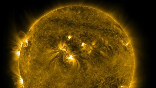 英媒:研究发现磁场活动导致太阳半径变化
