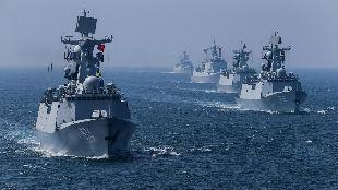 锐参考 | 看着解放军近50艘军舰离开的背影,台当局忽然回过神来——