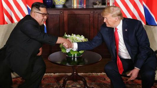 特朗普称赞朝鲜拆除导弹试验设施:我们对此深为感谢