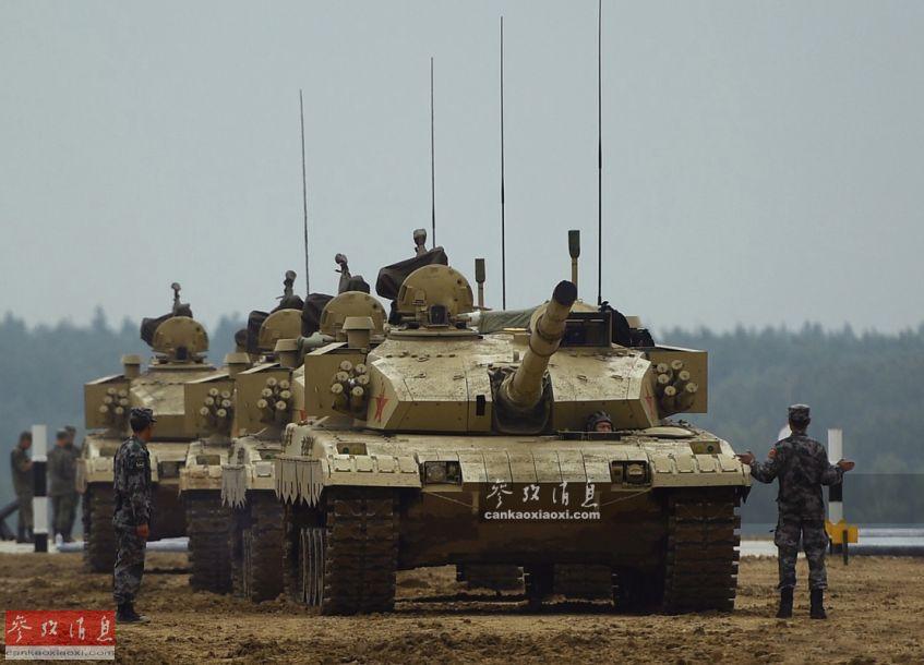 """夺冠热门!中国96B""""坦克两项""""首秀"""