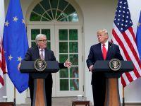 特朗普与欧盟达成协议 避免跨大西洋贸易战