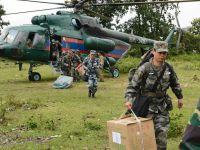 解放军医疗队抵达老挝南部溃坝事故灾区