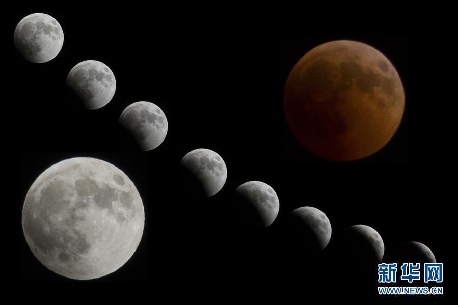 全世界一起看:本世纪持续时间最长的月全食现身天宇
