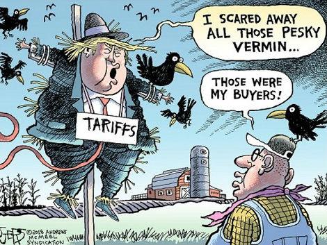"""特朗普关税战 """"吓跑""""美国顾客"""