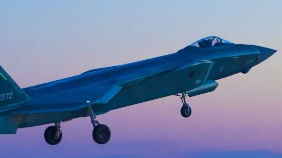 港媒:中国歼-20可全方位媲美F-22 跻身最先进隐形机