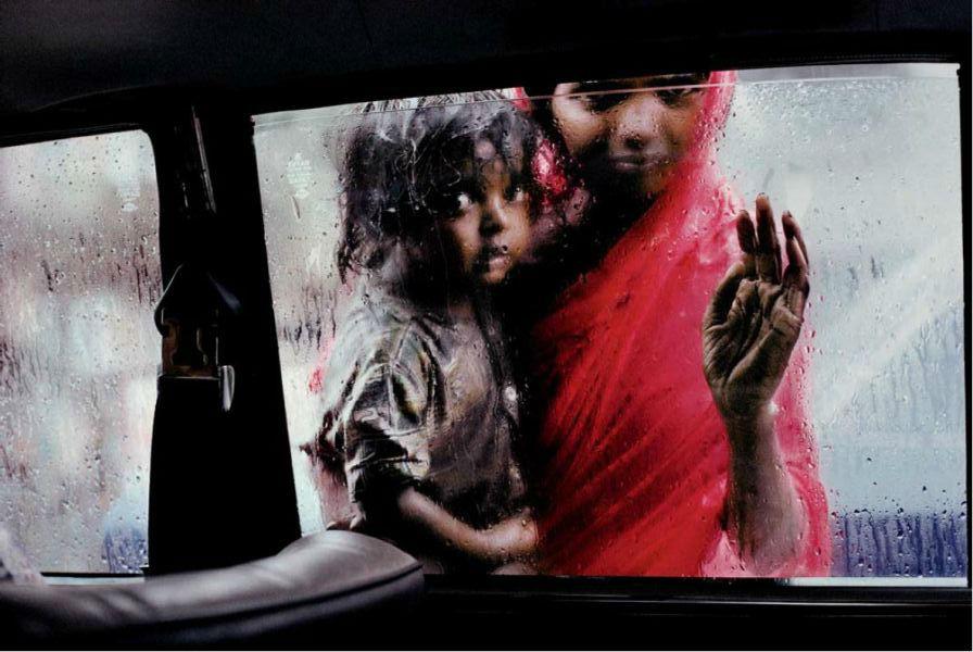 孟买街头乞讨者