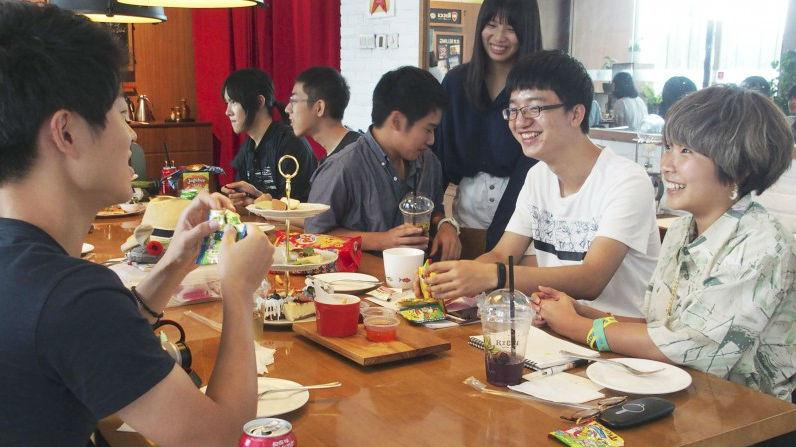 """日本高中生访问北京 感慨中国发展势头:""""简直是未来都市"""""""