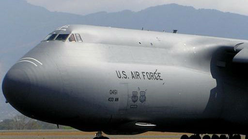 揭秘C-5运输机:尺寸超过空客A380 曾运输核导弹