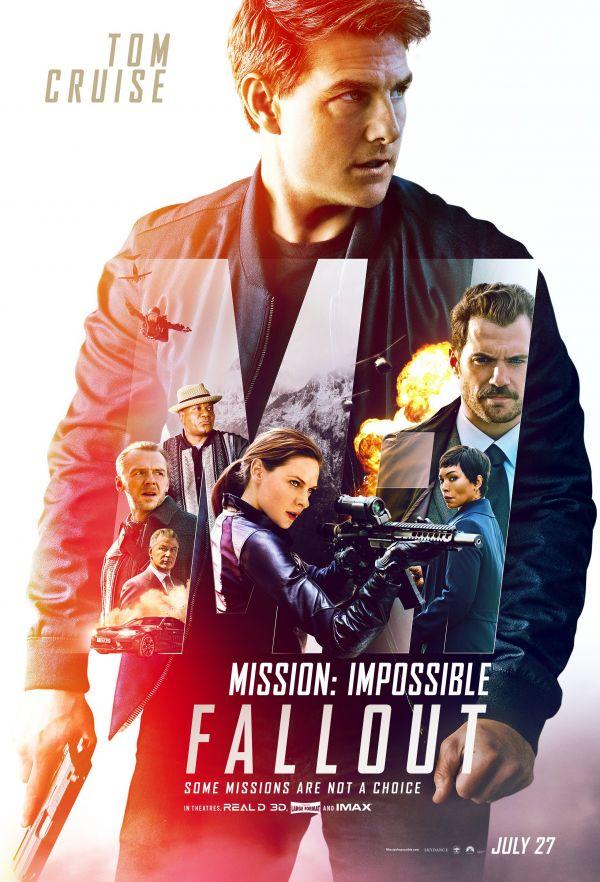 《碟中谍6:全面瓦解》北美版电影海报