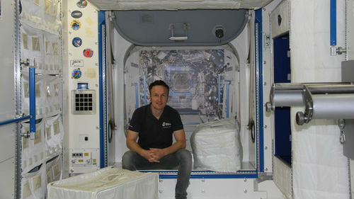 """德媒称欧洲宇航员正努力学中文:""""我想上中国空间站"""""""