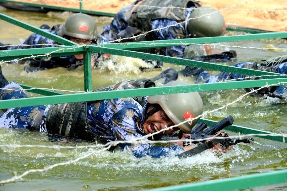 """""""国际军事比赛-2018""""海上登陆赛第二阶段开赛"""