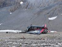 瑞士小型飞机坠毁 机上20人全部死亡