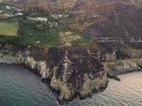 """爱尔兰山火""""烧出""""一处历史遗迹"""