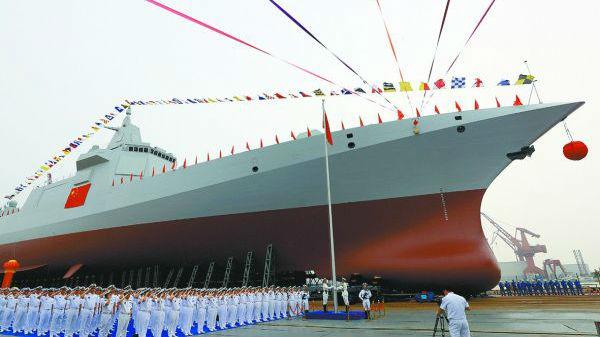 港媒盘点055型驱逐舰特性:可与部署在亚洲的其他军舰抗衡
