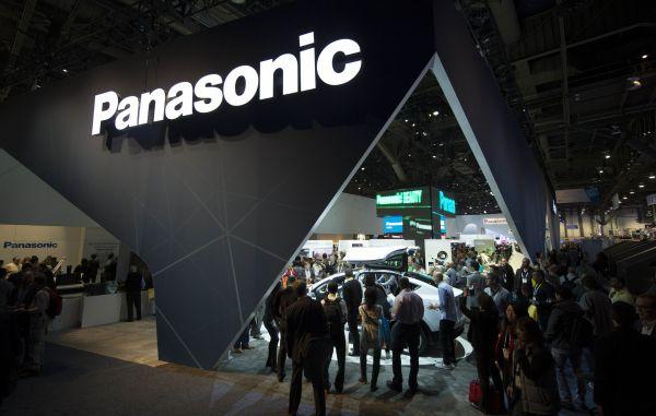 在美国拉斯韦加斯举行的2015国际消费电子展上,松下公司展台