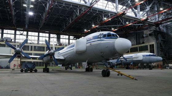 """俄将伊尔-22改造成""""星战飞机"""" 可实时监控战场并指挥军队"""