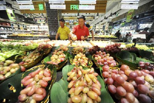 """英媒:中国7月CPI涨幅重回""""2时代"""" PPI涨幅稍有回落"""