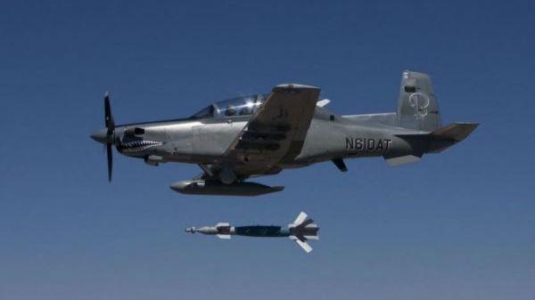 "A-29还是AT-6B?美空军""借重""轻型攻击机以更省钱的反恐"