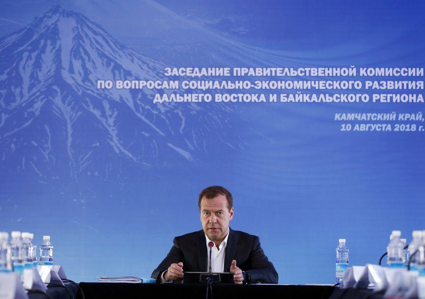 """俄总理警告美""""经济战争""""将招致反击"""