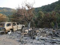 美国加州历史最大山火得到部分控制