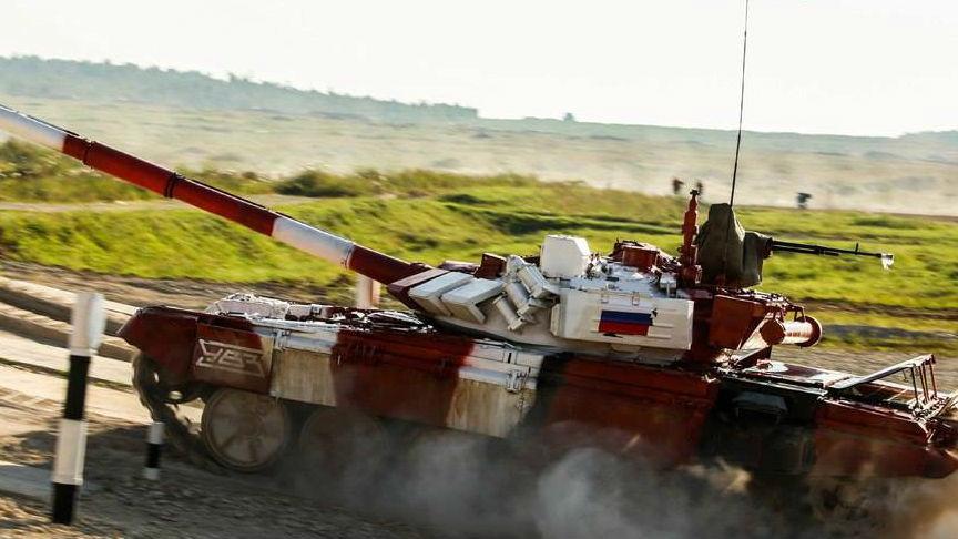外媒:2018国际军事比赛落下帷幕 俄军代表队共获19金
