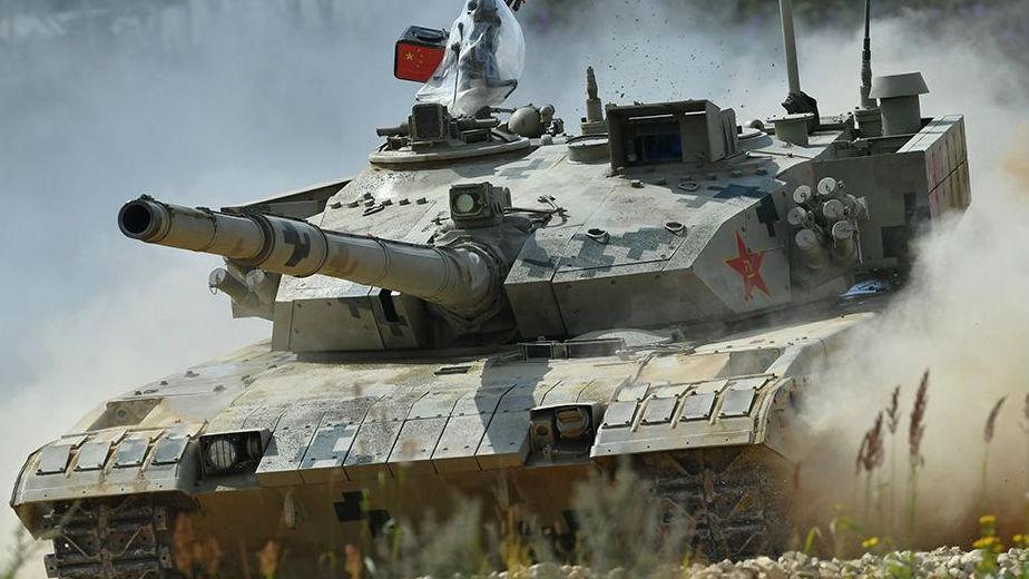 俄媒解析中国96B坦克为何表现耀眼:跑起来风驰电掣
