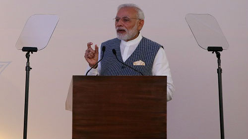 """印媒称莫迪为中印关系成熟点赞:""""边界40年未开一枪"""""""