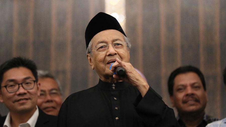 美媒:马哈蒂尔称将争取取消或搁置前任签署的中资基建项目