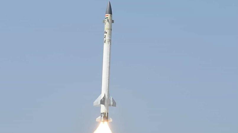 印度成功试射AAD反导拦截弹 可在25千米高空拦截弹道导弹