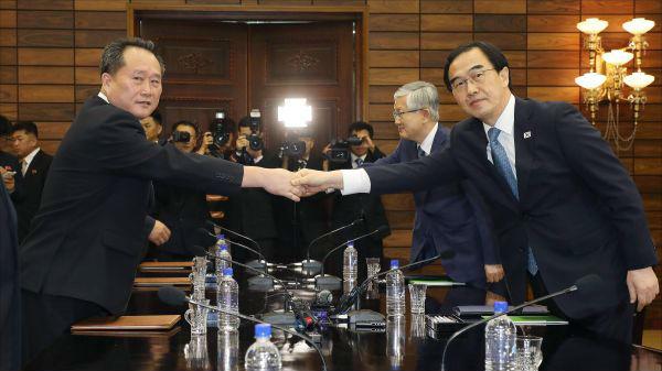 """外媒关注第三次""""文金会"""":文在寅将成第三位访平壤的韩总统"""