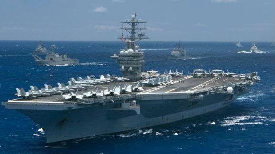 耀武扬威!美媒揭秘环太军演海上阅舰式:这些舰船有看点