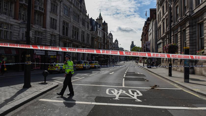 """一男子驾车冲撞英国议会大厦 特朗普大骂:""""这些畜生相当疯狂"""""""