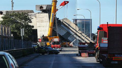 意大利桥梁缘何垮塌?德媒:基建破败致安全事故频发