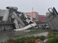 意大利公路桥垮塌数十人遇难 八九辆车从桥上跌落情景骇人