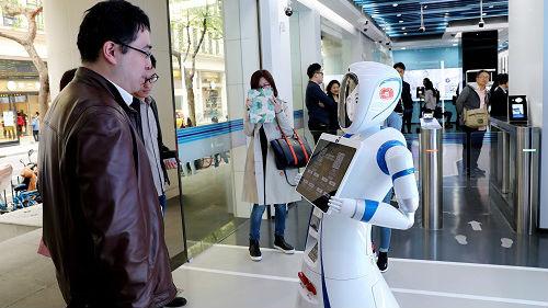 """日媒称上海经济活动加速""""无人化"""":利用IT技术节省人力"""